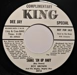 "45Re ✦ ROY BROWN ✦ ""Shake 'Em Up Baby / Letter To Baby"" Great R&B Jiver. Hear♫"